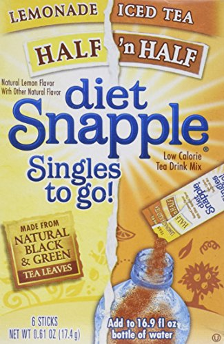 Diet Snapple Singles to Go - Variety