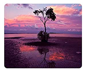Brain114 Customized Mouse Pad Oblong Sunset 2 Personalized Mousepad Non-Slip Gaming Mouse Pads