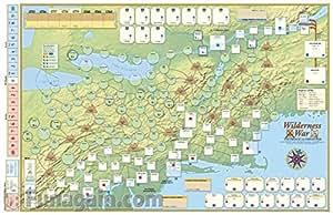 Wilderness War: Deluxe Map