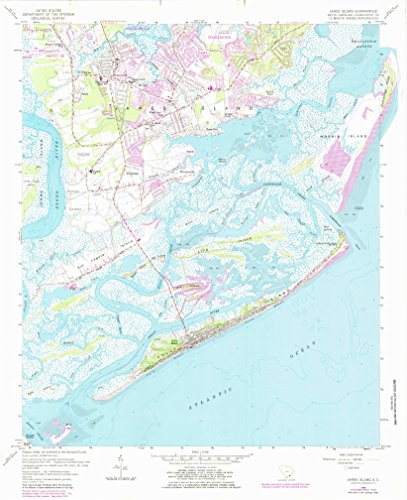 James Eyot SC topo map, 1:24000 scale, 7.5 X 7.5 Minute, Historical, 1959, updated 1984, 26.9 x 21.9 IN - Tyvek