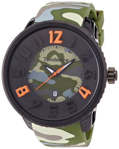 Tendence Gulliver Round Camo Men's Quartz Watch T0430030