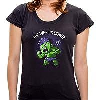 Camiseta Hulk Wi-fi - Feminina