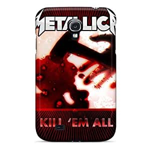 SherriFakhry Samsung Galaxy S4 Best Designed Hard Case High-definition Metallica Pictures [tpJ15170VtmM]