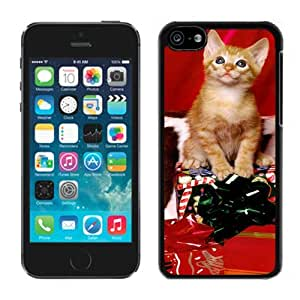 Recommend Design Cute Christmas Gift Cat Black Plastic Iphone 5c,Apple Iphone 5c Cover Case