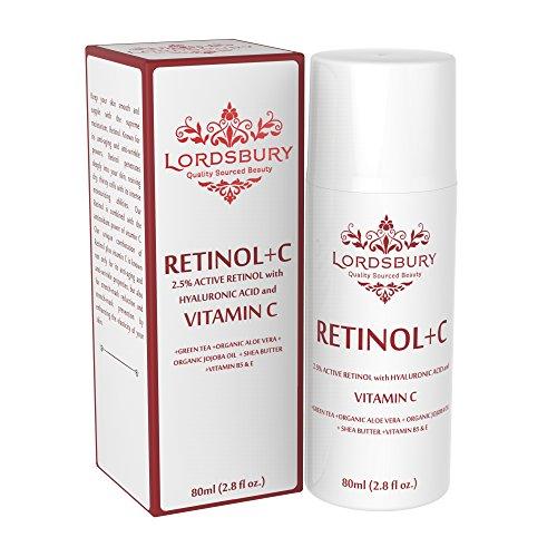 New Anti Aging Retinol Cream Moisturizer w Vitamin C and
