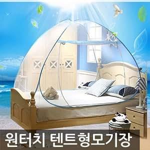byon portátil One Touch mosquitera tienda de campaña color azul/tipo/para 3–4persona/mosquitera/al aire libre tienda de campaña