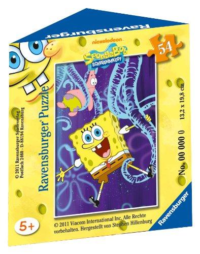 Ravensburger 09461 Spongebob Minipuzzle Da 54 Pezzi