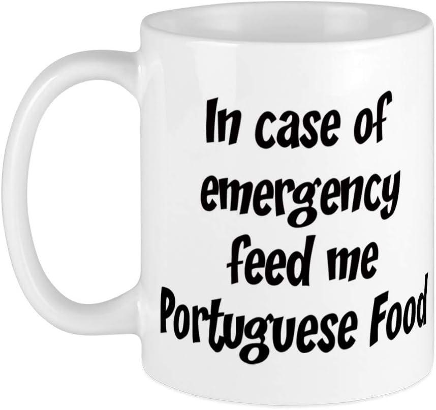 CafePress Feed Me Portuguese Food Mug Unique Coffee Mug, Coffee Cup