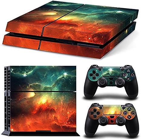 46 North Design Ps4 Playstation 4 Pegatinas De La Consola Galaxy + ...