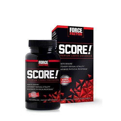 Force Factor Score! Premium Libido Enhancer, 76 Count