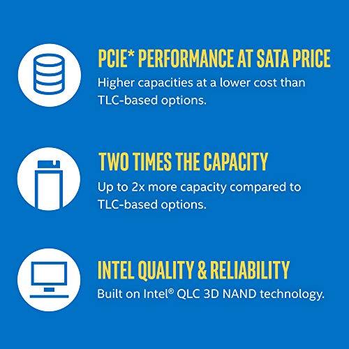Intel 660p M.2 2280 2TB NVMe PCIe 3.0 x4 3D NAND Internal Solid State Drive (SSD) SSDPEKNW020T8X1 by Intel (Image #4)