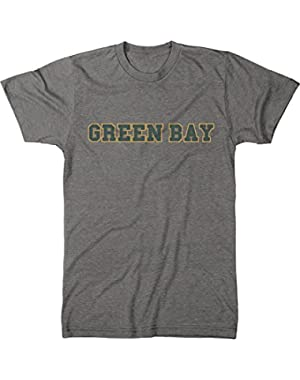 Cities - Green Bay Fan Men's Modern Fit Tri-Blend T-Shirt