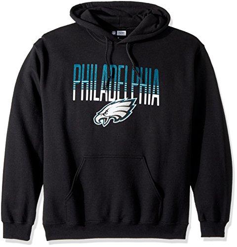 Philadelphia Eagles Long Sleeve Game (NFL Philadelphia Eagles Men's Zubaz Gradient logo hoodie, X-Large, Black)