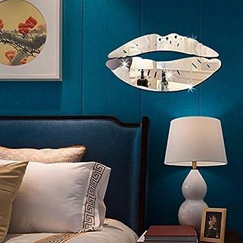 Wandaufkleber Alldolwege Kreative Spiegel Acryl Spiegel Hintergrund