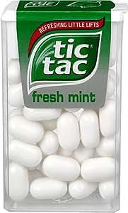 Amazon Com Tic Tac X4 Fresh Mint 18g Grocery