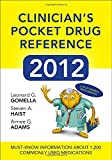 img - for Clinicians Pocket Drug Reference 2012 book / textbook / text book