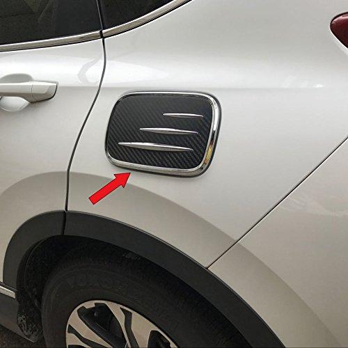 Beautost For Honda 2017 2018 2019 CR-V CRV Fuel Gas Door Tap Tank Cover Trim