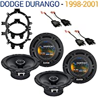 Dodge Durango 1998-2001 Factory Speaker Replacement Harmony (2) R65 Package New