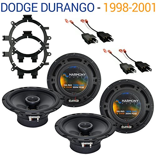 Dodge Durango 1998-2001 Factory Speaker Replacement Harmony (2) R65 Package New - Dodge Durango Speaker
