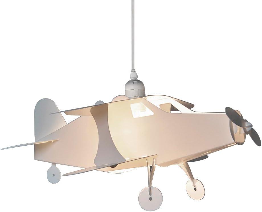 MiniSun und Babyzimmer Moderner Lampenschirm in Form eines Pterodaktylus mit wei/ßem Finish f/ür Kinder Dinosaurier Lampenschirm f/ür H/änge und Pendelleuchten