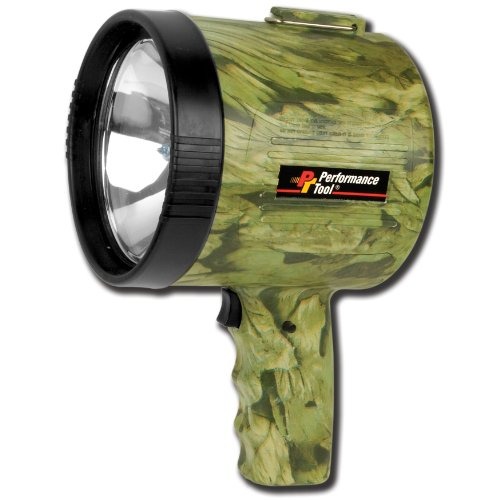 - Performance Tool W2432 High Power Quartz Halogen Bulb Spotlight, Camouflage