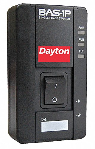 Dayton NEMA Magnetic Motor Starter, 110/240VAC Coil Volts, Overload Relay Amp Setting: 1 to 16A ()