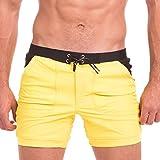 Taddlee Swimwear Men Sexy Swimsuits Swim Briefs Bikini Surf Boxer Trunks Shorts (L)