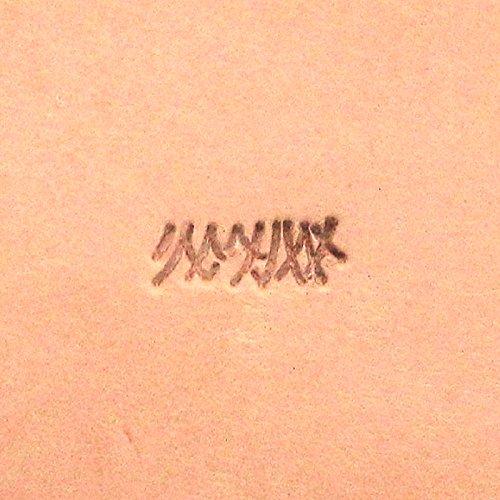 - Wheat Grass Leather Craft Stamp F111