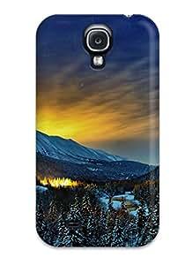 Jimmy E Aguirre's Shop Galaxy S4 Alaska Winter Nights Tpu Silicone Gel Case Cover. Fits Galaxy S4