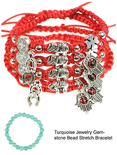 RufNTop Lucky Red String and