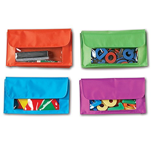 Pocket Organizer Magnetic - Learning Resources Magnetic Storage Pockets