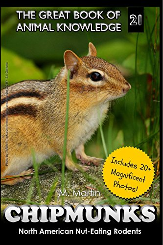 Chipmunks: North American Nut-Eating Rodents (The Great Book of Animal Knowledge (Rodents Animals)