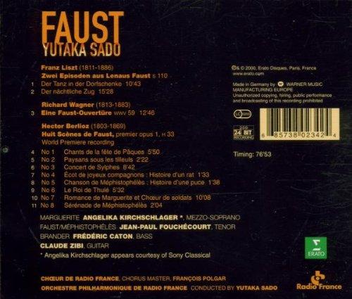 Amazon.com: Faust by Berlioz, Liszt, Wagner / Kirchschlager ...
