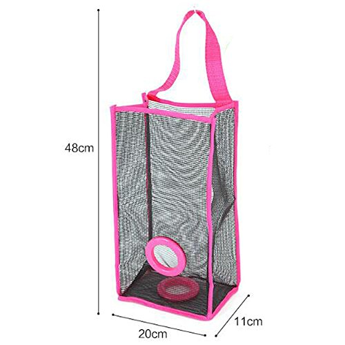 Red Women Bag Sports Double Organizer Shoulder Travel Beach 1 Mesh pink KINDOYO Picnic Style Beach Tote for Men Bag Bare Carry Layer Bag and 1EzqzFUw