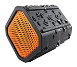 ECOXGEAR Ecopebble Rugged and Waterproof Wireless Bluetooth Speaker - Retail Packaging - Orange