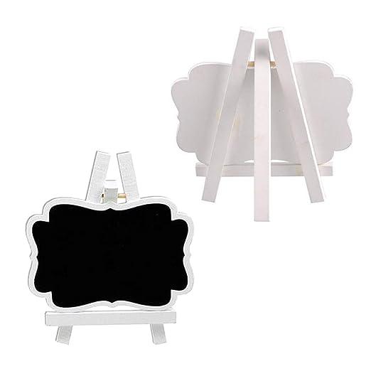 Amazon.com: 10 piezas de madera Home soporte Mini pequeño ...