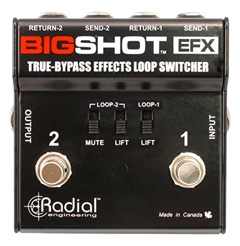 - Radial BigShot EFX True Bybass Effects Loop Switcher