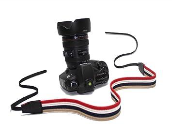 Shetu - Correa de Seguridad para cámara réflex Digital Canon Nikon ...