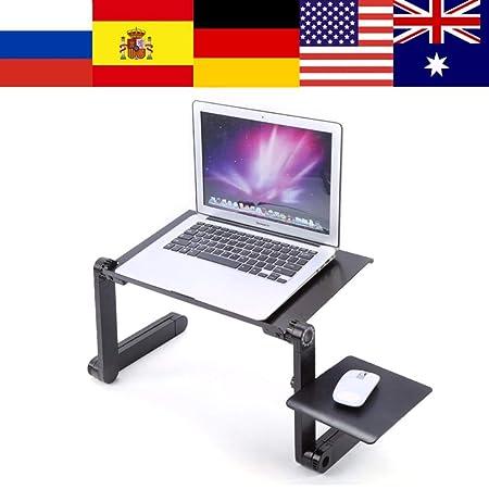 JUECAN Soporte de Mesa portátil Ajustable para Ordenador portátil ...