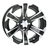 ITP SS312 Alloy Wheel Black Rear 14x8 5+3 for Honda Kawasaki Yamaha