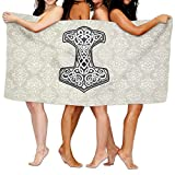 Thor's Hammer Over-Sized Cotton Batch Towel - Best Reviews Guide