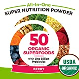 Orgain Organic Green Superfoods Powder, Berry