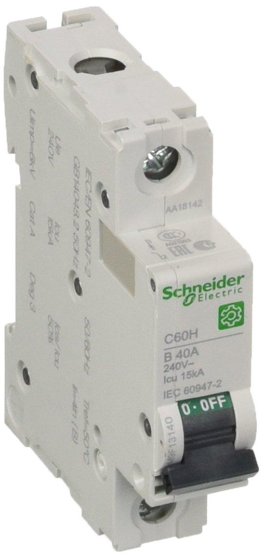 /2 Schneider m9/F13140/Multi 9/OEM Interruttori differenziali c60h 1/poli 40/a B di Char 15/KA iec60947/