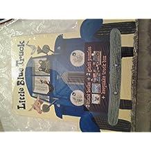 Little Blue Truck 2 large board Books & 2 giant Puzzles keepsake Box Set