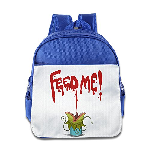 Children Little Shop Of Horrors Feed Me Backpack Schoolbag