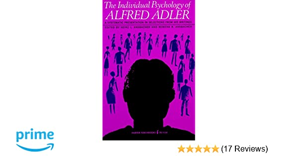 alfred adler school of thought