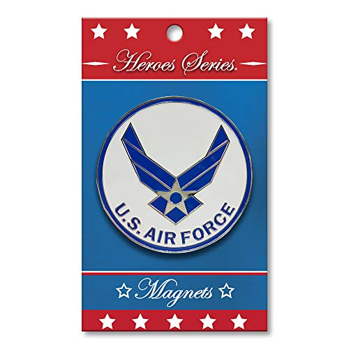 Allied Products Heroes Series Air Force Wings Medallion Small Magnet - 2.5