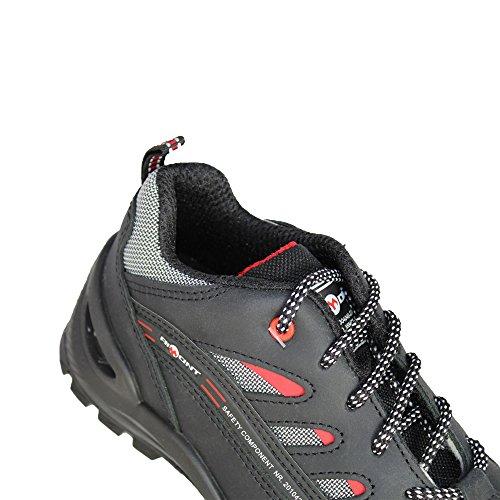 Llevan Virtus Src Seguridad Zapatos Aimont Negro S3 Plana De Que vq4wB