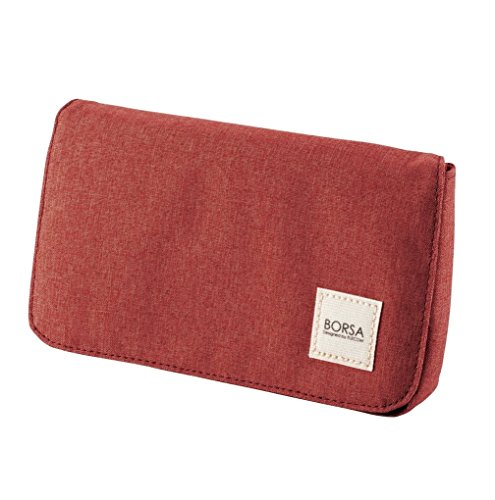 ELECOM Bag in Bag Gadget Pourch Size M Red BMA-GP05RD by Elecom