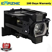 Emazne DT01291/003-120708-01/DT01295 Projector Replacement Compatible Lamp With Housing For Hitachi CP-WX8255 Hitachi CP-WUX8450 Hitachi CP-X8160 Christie LX601i LWU501i LW551i